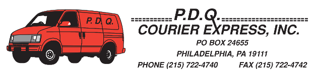P.D.Q. Courier Express, Inc., Logo